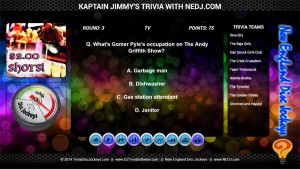 DJ Trivia Software Games