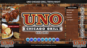 Uno Chicago Grill Trivia Night
